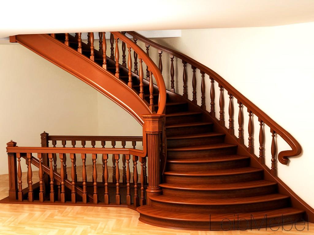 "лестница ""Темное дерево"""